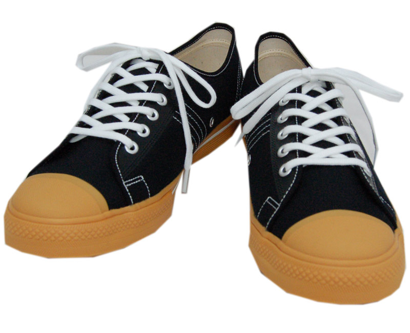 DAPPER'S ダッパーズ スニーカーLOT1403【Dappers Brand Canvas Sneakers Type Low Cut】BLACK