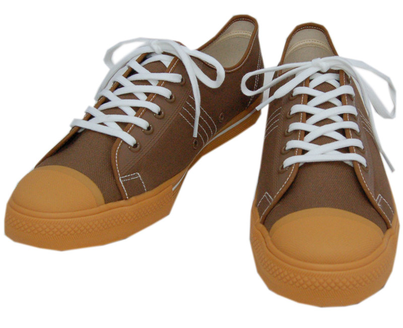 DAPPER'S ダッパーズ スニーカーLOT1403【Dappers Brand Canvas Sneakers Type Low Cut】MOCHA BROWN