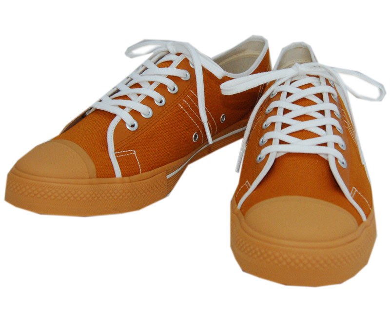 DAPPER'S ダッパーズ スニーカーLOT1403【Dappers Brand Canvas Sneakers Type Low Cut】ORANGE