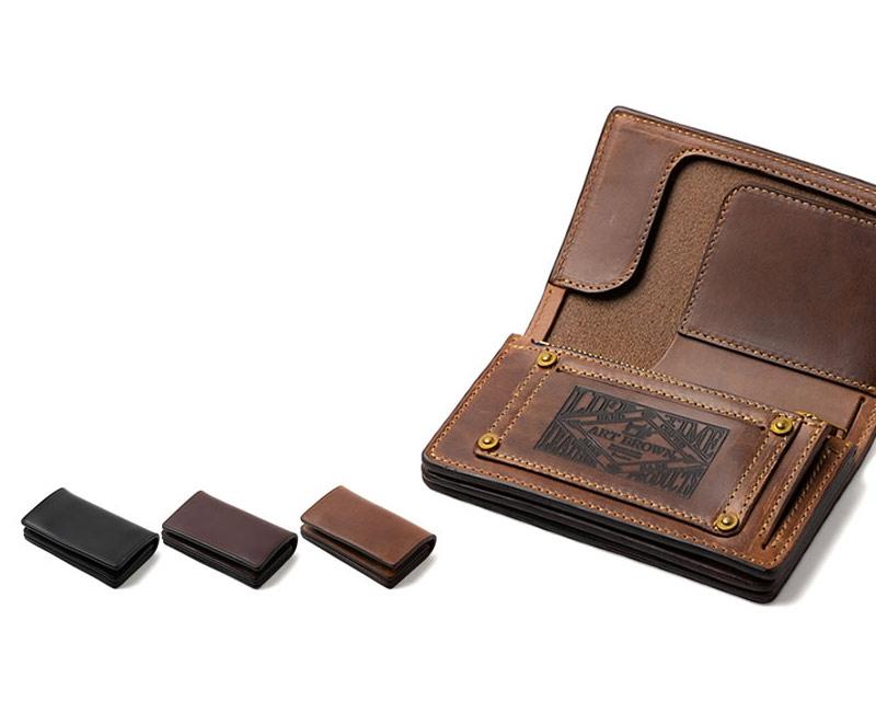 ART BROWN アートブラウン 財布 クロムエクセル ミドルウォレット