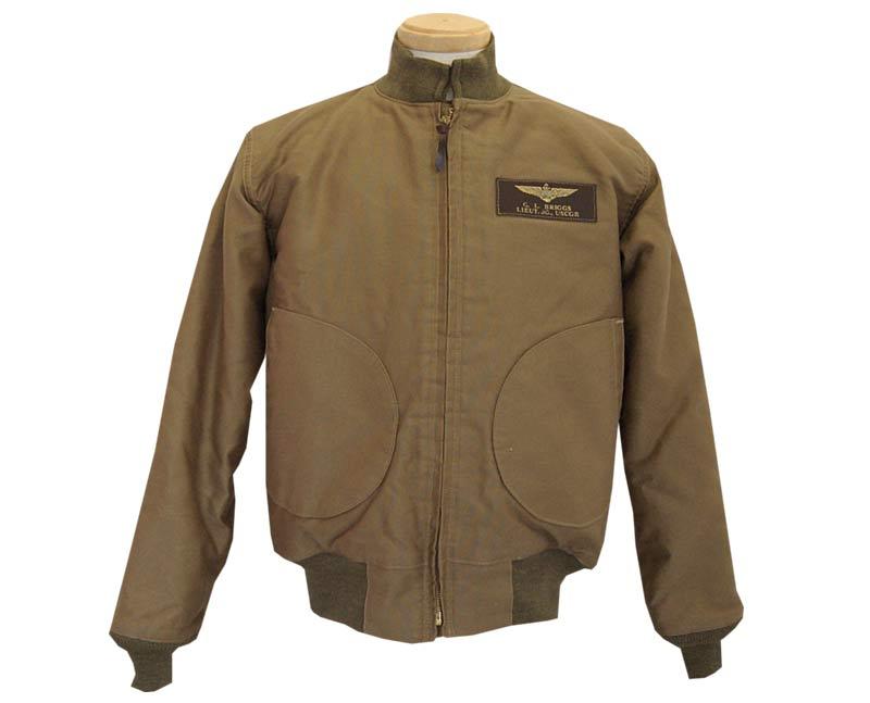 2b58281e9fa Take off  Buzz Rickson s (Rickson) flight jacket DECK ZIP 40   MODEL ...