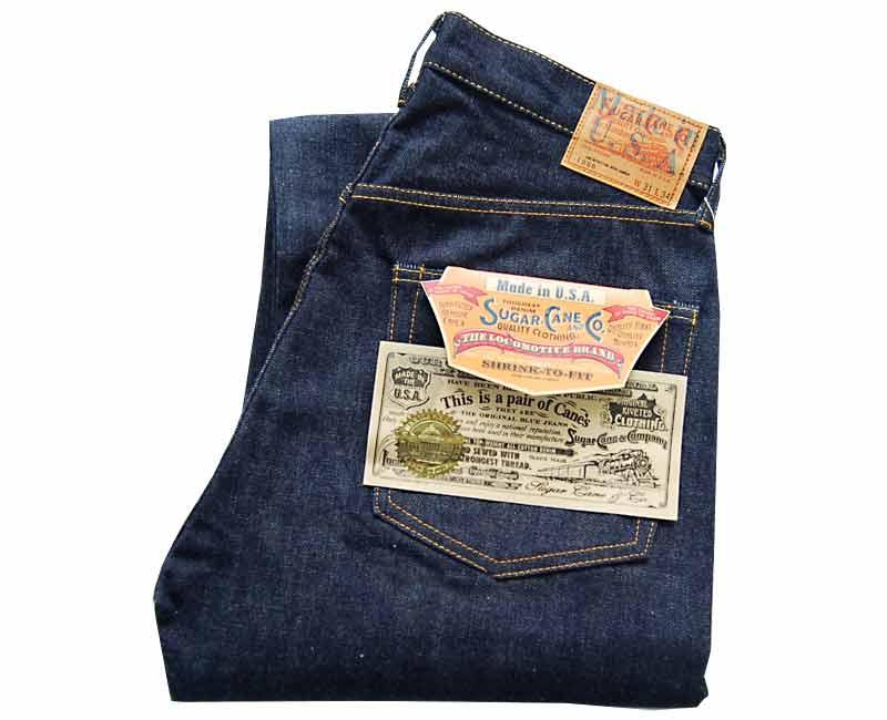甘蔗牛仔裤 1966' 制作模型在美国