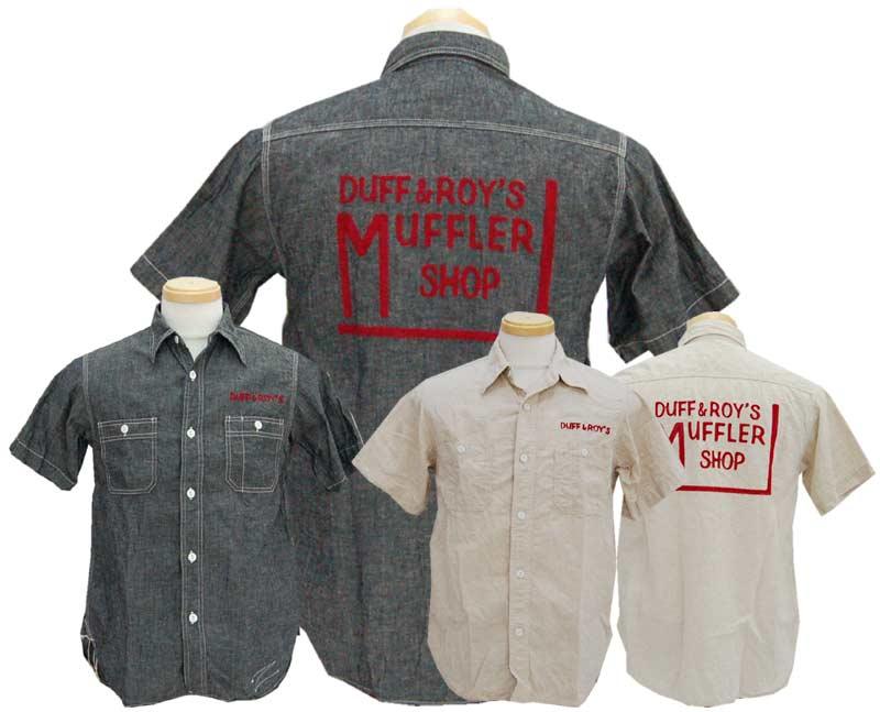 CUSHMANクッシュマン シャツ C/L シャンブレーワークシャツ DUFF&ROY'S