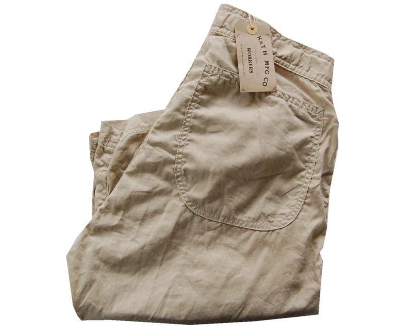 Workers ワーカーズ Easy Pants 5.5オンス・綿50% 麻50%