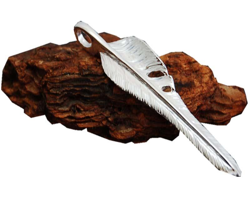 ARIZONA FREEDOM アリゾナフリーダム ペンダントトップ 風切りフェザートップ 左向き (60mm) 【smtb-k】【kb】