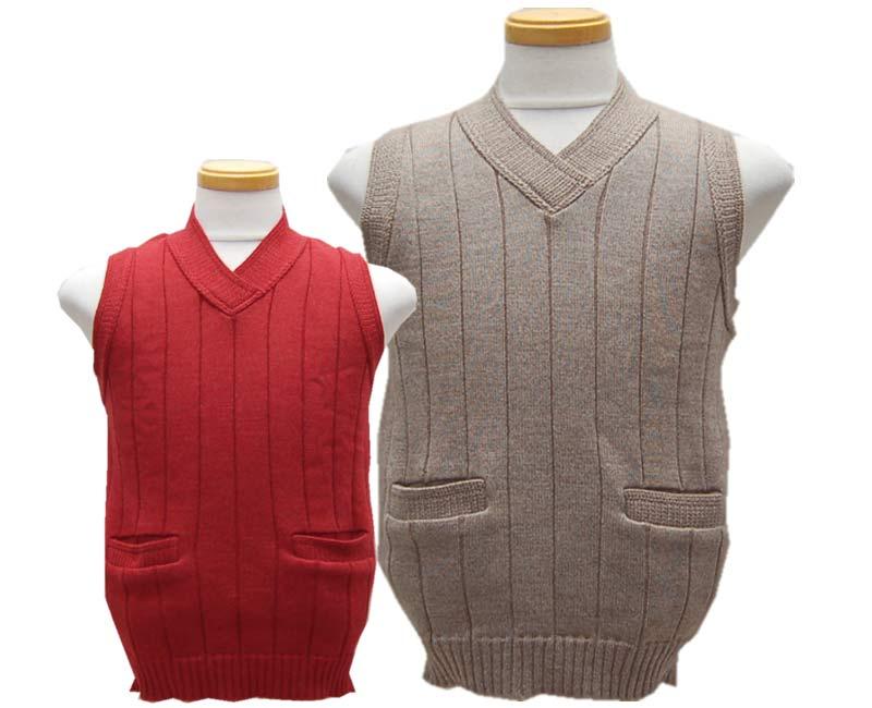 Dapper's ダッパーズ Classical Pullover Knit Vest