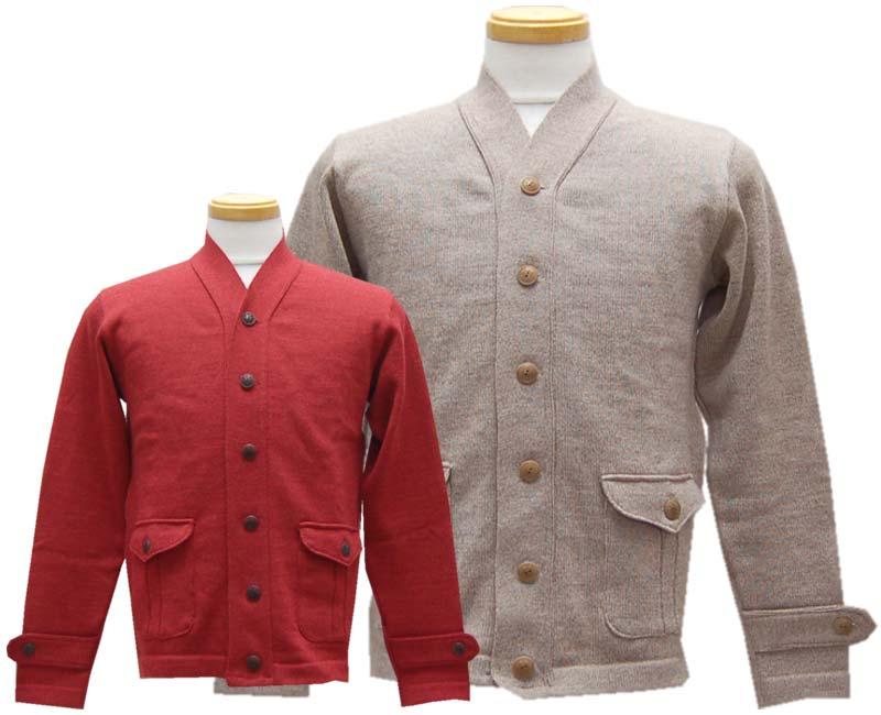 Dapper's ダッパーズ Classical Two Frap Pocket Knit Cardigan