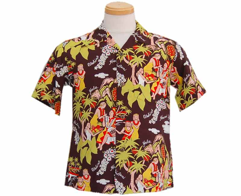2014 SunSurf サンサーフ HAWAIIAN SHIRT