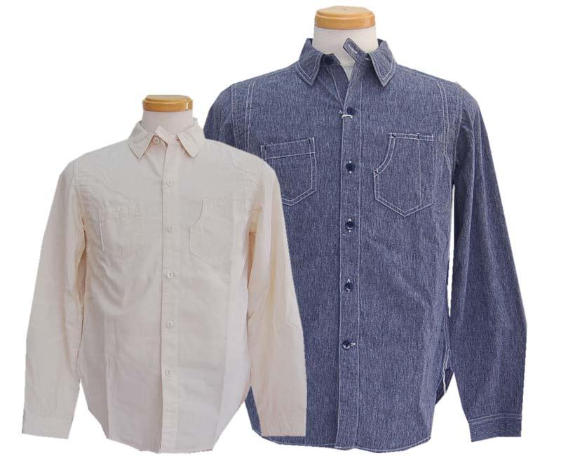 Dapper's ダッパーズ Patched Work Shirts 【smtb-k】【kb】