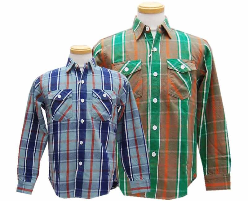 WAREHOUSE ウエアハウス 【COPPER KINGカッパーキング】FLANNEL SHIRTS D柄 【smtb-k】【kb】