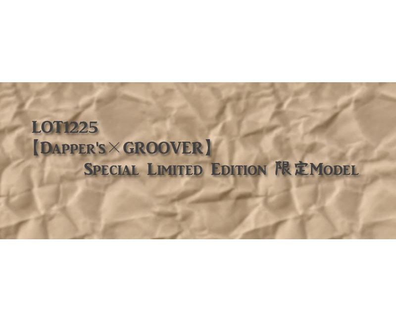 "DAPPER'sダッパーズ メガネ【Dapper's ダッパーズ×GROOVER グルーバー】限定スペシャルリミテッドエディション ""SEVEN"""