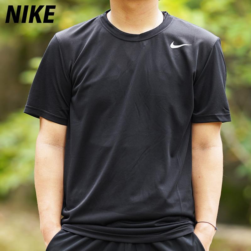 ナイキ メンズ Tシャツ 20SS 送料無料 上 NIKE ドライ 吸汗速乾 半袖 DRI-FIT 718834 ブランド スポーツ おしゃれ BLK 人気商品 大きいサイズ 有 スポーツウェア 激安価格と即納で通信販売 レジェンド トレーニングウェア