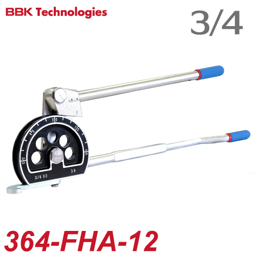 BBK チューブベンダー IMPERIAL レバーベンダー 364-FHA-12 チューブ外径:3/4(19.05mm) 質量:3170g