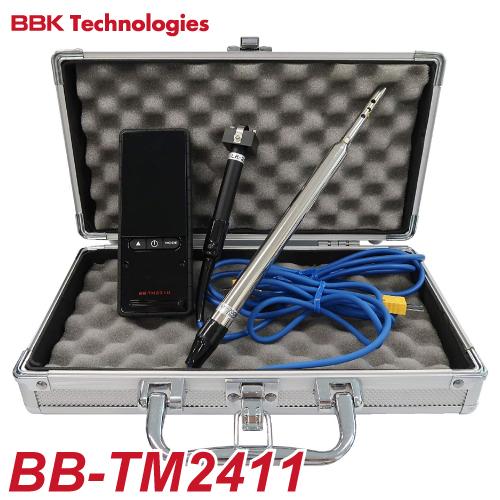 BBK デジタル温度計セット(空調用プローブ・表面温度センサー付) BB-TM2411 ケース付
