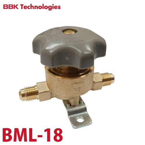 BBK パックレスバルブ BML-18 仕様:両端3/4フレアオス フレアタイプ(ナット無し)