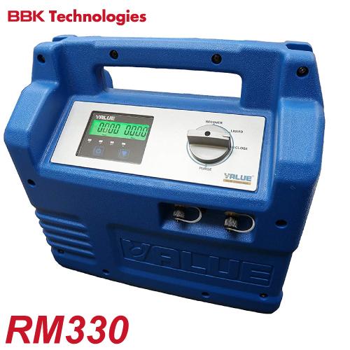 BBK オイルレスフルオロカーボン回収装置 RM330 デジタルタッチパネル式