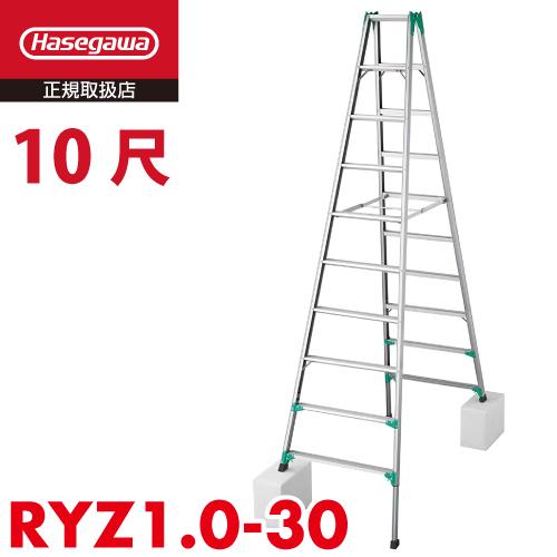 ハセガワセール|長谷川工業 ハセガワ 脚立専用 RYZ1.0-30 10尺 天板高さ:2.82~3.13m