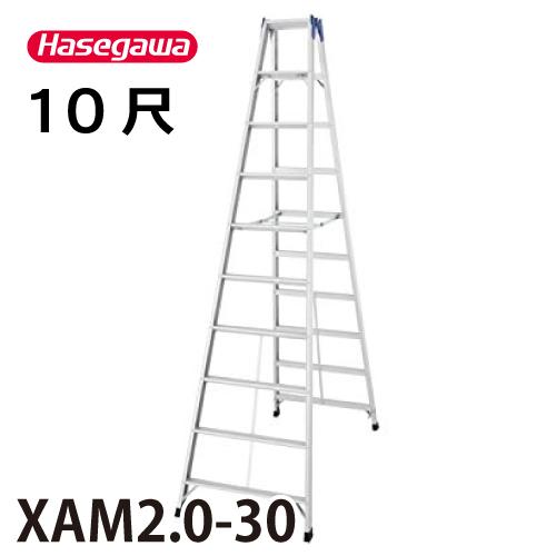 長谷川工業 ハセガワ 専用脚立 XAM2.0-30 天板高さ:2.90m 最大使用質量:130kg