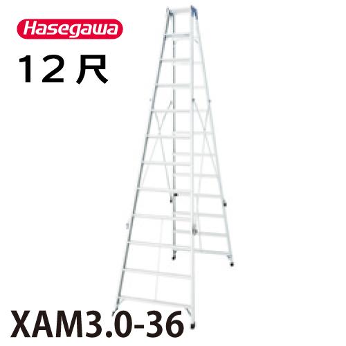 長谷川工業 ハセガワ 専用脚立 XAM3.0-36 天板高さ:3.49m 最大使用質量:130kg