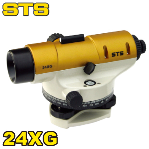 STS STSオートレベル 24XG 標準偏差:±2.0mm 倍率:24倍