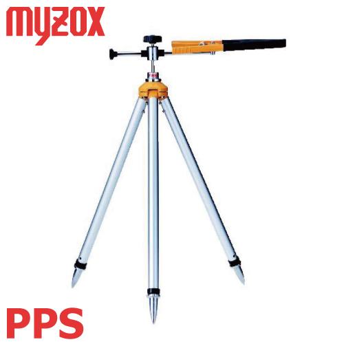 マイゾックス 測量用 プリズム三脚 PPS 重量:1.4kg
