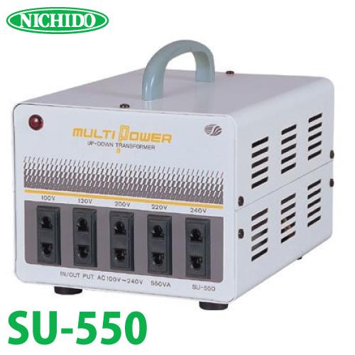 日動工業 海外用トランス SU-550 入力電圧:AC100,120,200,220,240V 出力電圧:AC100,120,200,220,240V