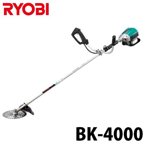 リョービ/RYOBI 充電式刈払機 BK-4000 25.2V 4000mAh 草刈機