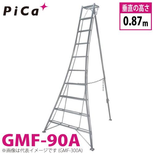 ピカ /Pica 三脚脚立 GMF-90A 最大使用質量:100kg 垂直高さ:0.87m