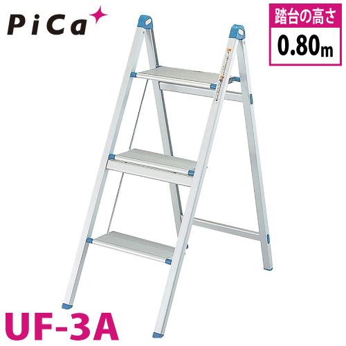 ピカ/Pica 薄型踏台 UF-3A 最大使用質量:100kg 段数:3