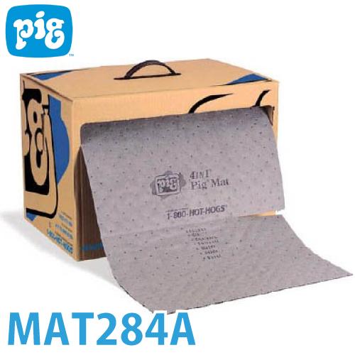 ピグ フォーインワンピグマット ミシン目入り 1巻24m MAT284A 油・液体用吸収材 防炎適合品