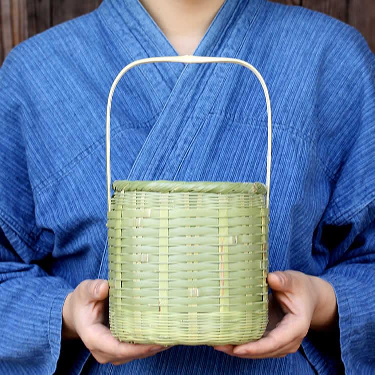 入浴用の小物入れにおすすめの竹籠 タイムセール 温泉かご 新着 湯かご 小