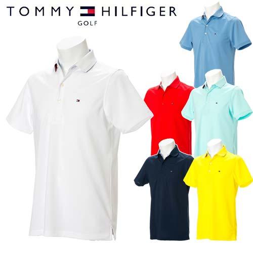 【定番継続モデル】【あす楽対応】トミーヒルフィガーゴルフ17SS ベーシック フラッグ 半袖 ポロシャツ【THMA709】TOMMY HILFIGER GOLF