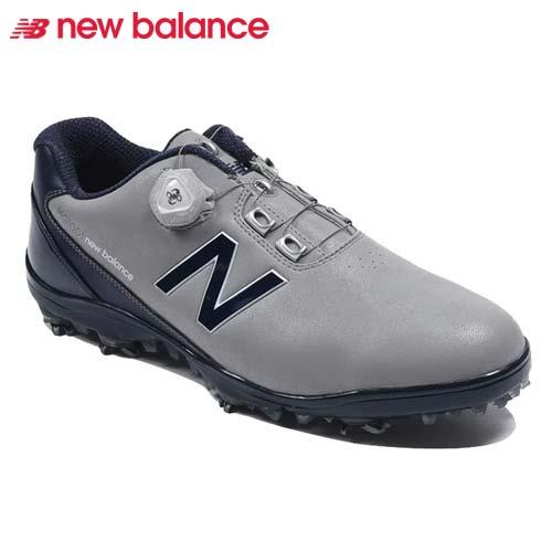 ニューバランス ゴルフシューズ ボア クロージャーシステム スパイク メンズ New Balance golf boa 【MG1001GN】【あす楽対応】【smft-1】