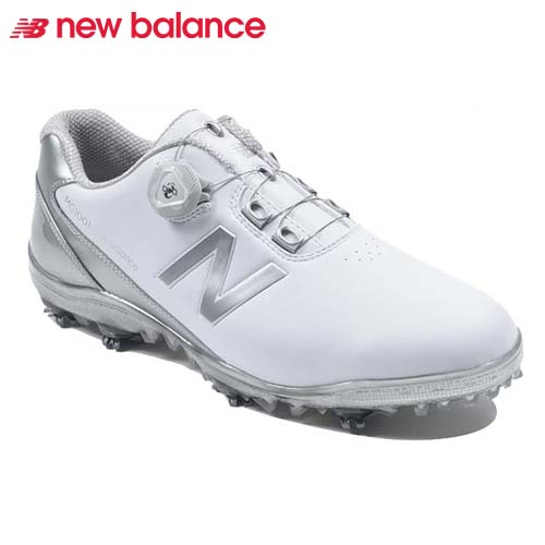 【キャッシュレス5%還元】 ニューバランス ゴルフシューズ ボア クロージャーシステム スパイク メンズ New Balance golf boa 【MG1001WS】