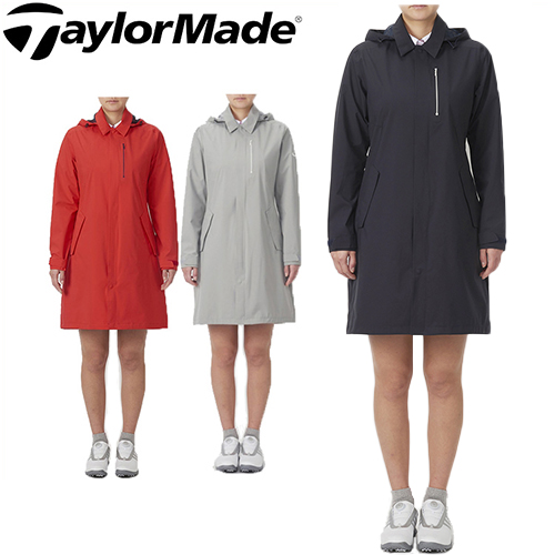 【キャッシュレス5%還元】 テーラーメイド ゴルフ レインワンピース レディース レインウェア TaylorMade 【KL961】