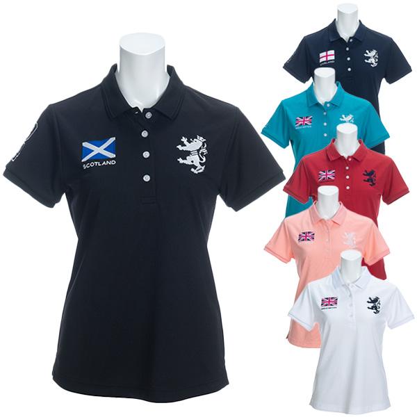 【月間優良ショップ受賞】 アドミラル ゴルフ レディース シャツ 半袖 フラッグ ポロシャツ ADLA026 Admiral Golf