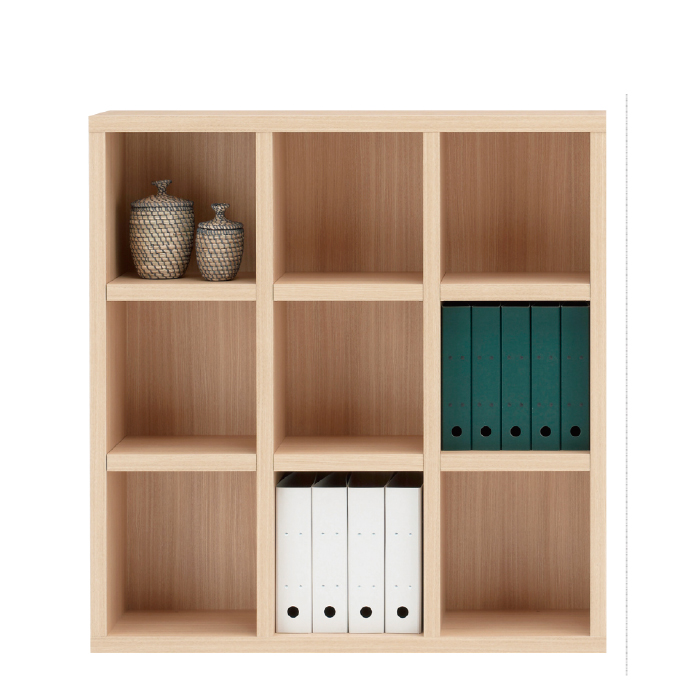 【お取り寄せ】フナモコ オープン書棚 FHA-110L エリーゼアッシュ ニューラチス ロータイプ ブックボード 書斎