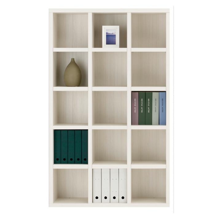 【お取り寄せ】フナモコ オープン書棚 FBS-110T ホワイトウッド ニューラチス ハイタイプ ブックボード 書斎
