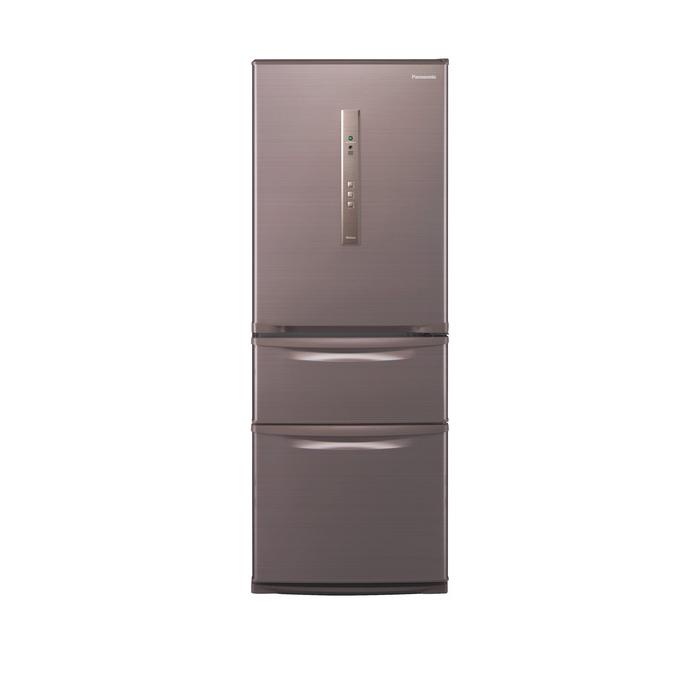 クレーン搬入費半額セール 東京23区近郊限定配送 パナソニック 315L 右開き 3ドア 冷蔵庫 NR-C32HM-T シルキーブラウン Panasonic NRC32HM|日本製 野菜室が真ん中 自動製氷 二人暮らし