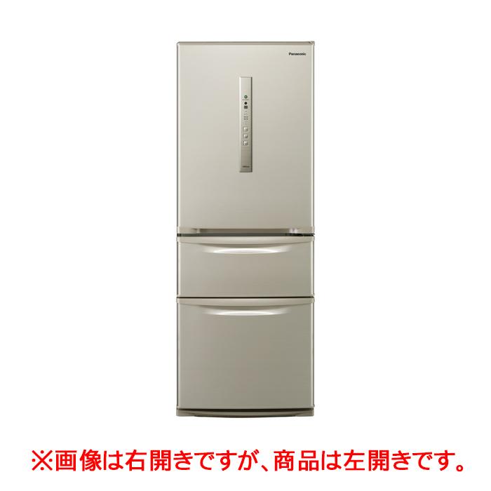 クレーン搬入費半額セール 東京23区近郊限定配送 パナソニック 315L 左開き 3ドア 冷蔵庫 NR-C32HML-N シルキーゴールド Panasonic NRC32HML|日本製 野菜室が真ん中 自動製氷 二人暮らし