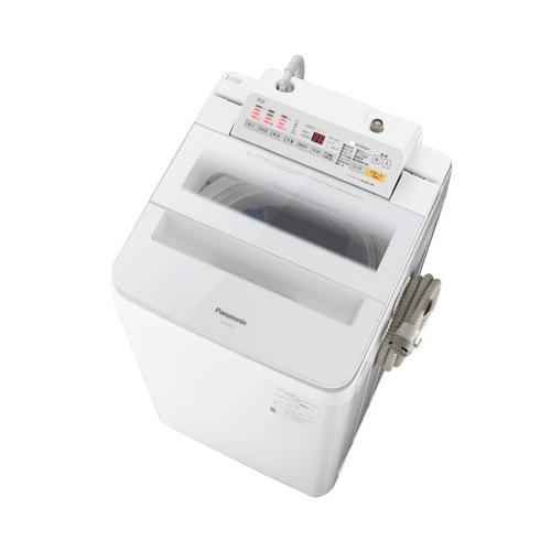基本設置無料 パナソニック 7kg 全自動洗濯機 NA-FA70H6-W ホワイト 東京23区近郊限定配送 Panasonic NAFA70H6W|インバーター 自動槽洗浄 泡洗浄