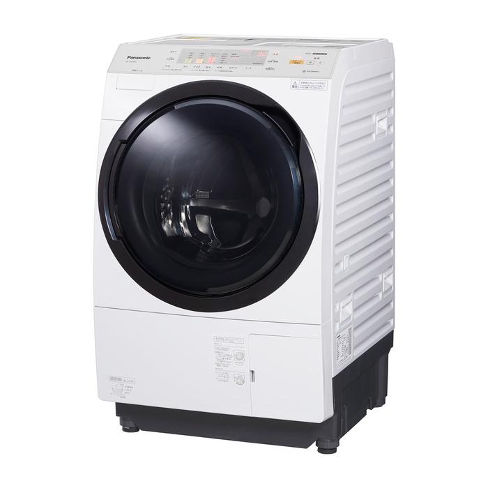 クレーン搬入費半額セール 東京23区近郊限定配送 パナソニック 10kg 左開き ドラム式洗濯乾燥機 NA-VX3900L-W クリスタルホワイト Panasonic NAVX3900L|ドラム式洗濯機 ななめドラム 乾燥機能付き ヒートポンプ式 日本製