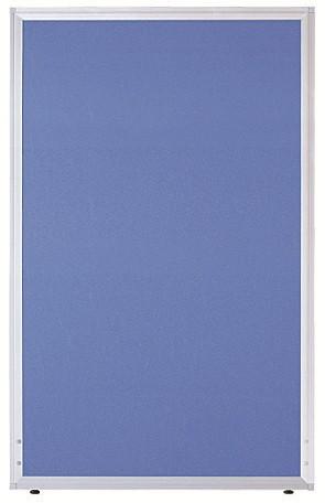 【法人様限定/直送便】 井上金庫販売 ローパーテーション UK-1212BLブルー 幅1200×高さ1200×パネル厚21mm