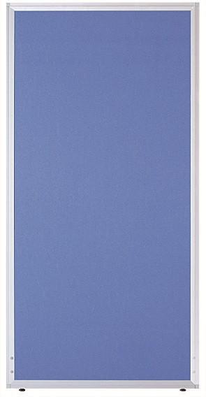 【法人様限定/直送便】 井上金庫販売 ローパーテーション UK-1512BLブルー 幅1200×高さ1500×パネル厚21mm