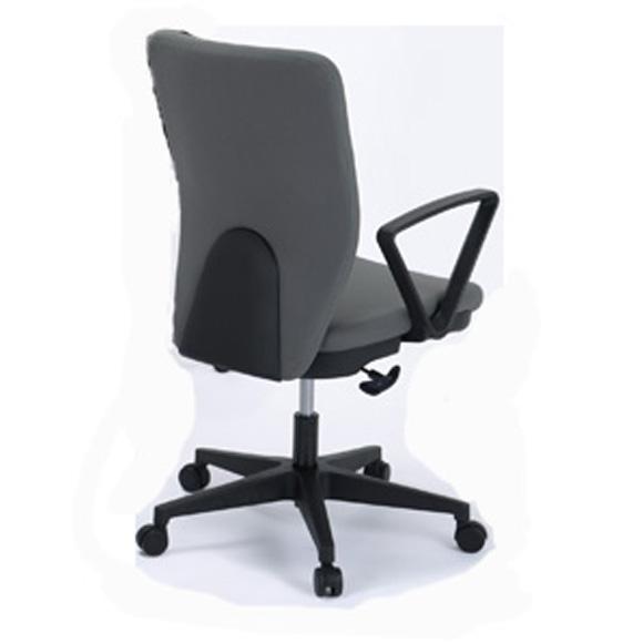 東京23区近郊限定配送 東洋事務器工業 ハイバックタイプ オフィスチェア(リング肘付) 850JGR-GLグレー|オフィス用品 事務用品 チェア 回転椅子事務椅子 オフィス家具 激安チェア ワークチェア PCチェア 椅子 お買い得品