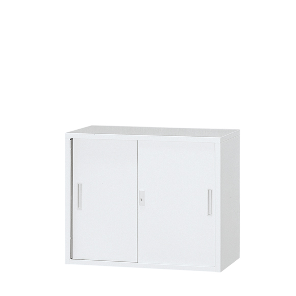 東洋事務器工業 A4対応スチール戸書庫 3S-073-WH