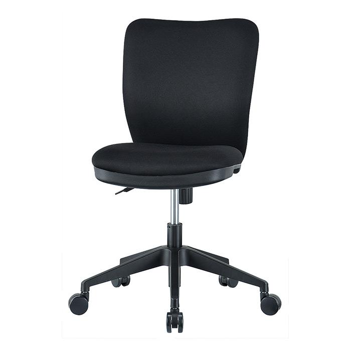 【法人様限定】【直送便】【送料無料】井上金庫販売 回転椅子 OC-102BKブラック