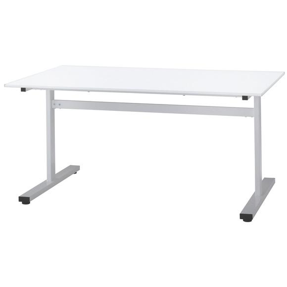 【法人様限定/直送便】 井上金庫販売 会議テーブル FAT-1590 WH 幅1500 奥行900 高さ700mm