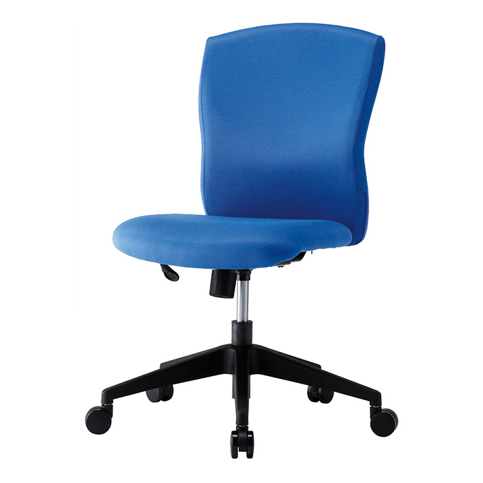 【法人様限定】【直送便】【送料無料】井上金庫販売 回転椅子 JUC-06BLブルー