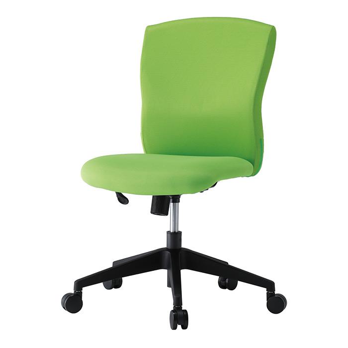 【法人様限定】【直送便】【送料無料】井上金庫販売 回転椅子 JUC-06LMライム